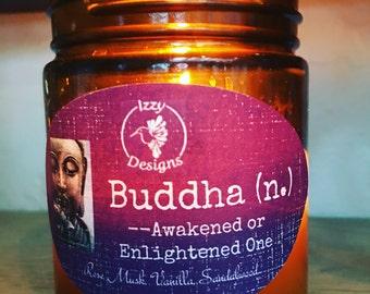 9 oz Budda Candle