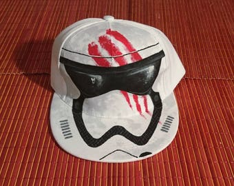 Custom Cap. Soldier assault. Inspired by Star Wars.