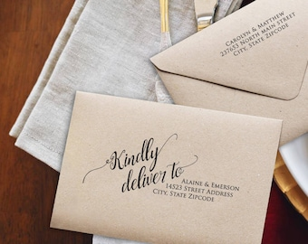 Wedding Envelopes DIY Envelope Addressing Template Address Printable