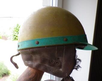 genuine ussr / soviet russian motorcycle helmet