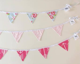 Banners pennants - Collection GIRLY