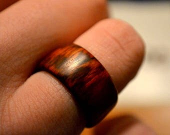 Snakewood ring RARE WOOD