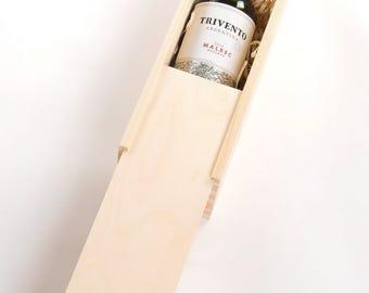 Wooden Wine Box. Wine Gift Box. Champagne Box. Prosecco Box. Bottle gift Box. Wine Presentation box. Corporate gift. Wine Box. Bottle box.