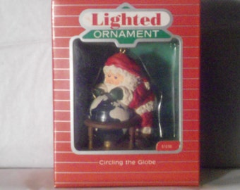 """Circling the Globe """"Lighted"""" 1988"""