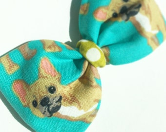 French Bulldog Lucy Style Bow