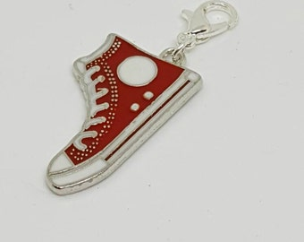 Enamel Sneaker/Trainer Progress Keeper/ Stitch Marker