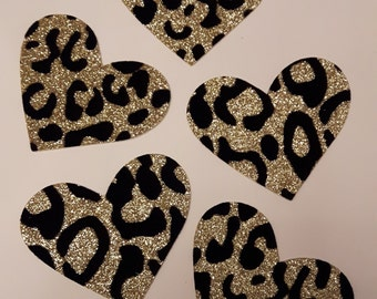 Set of 5 Heart Die Cuts