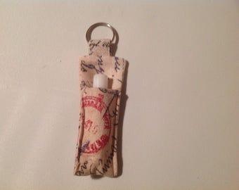 Lip Salve key ring