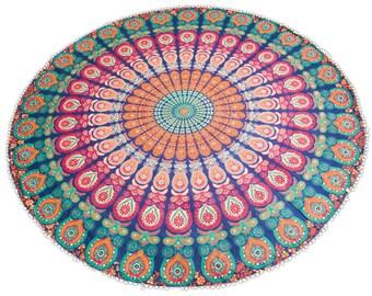 Running Gypsy Mandala Tapestry
