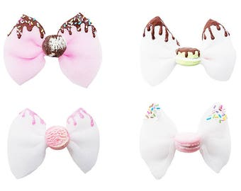 Deliciously Sweet Scoop of Cuteness Hair Clips
