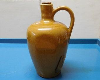 Vintage French Brandy Stoneware Bottle - Desjonqueres Foucarmont