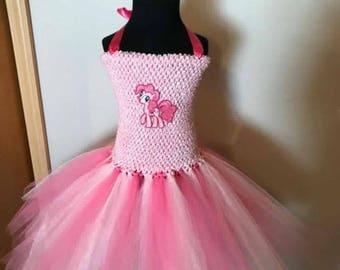 Pinkie Pie Tutu Dress 3T - 5T