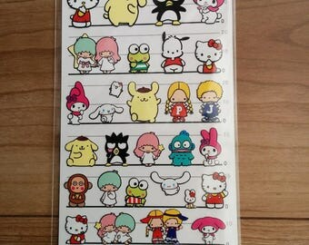 seals of  Sanrio characters, made in Japan, limited