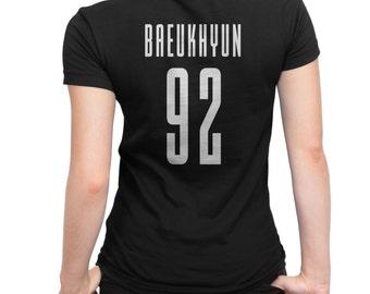 EXO KPOP Shirt vrouwen BAEKHYUN