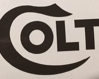 Colt Firearms Sticker