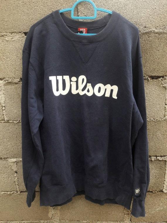Year End Sale! Vintage Wilson sweatshirt big Logo