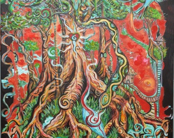 Womb of Mother Earth