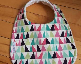 Baby Bib - Triangles