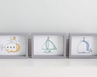 Nautical Nursery Print Series