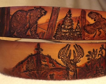 Deer, Bear, and Turkey belt