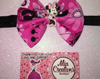 Boutique Minnie Mouse headband