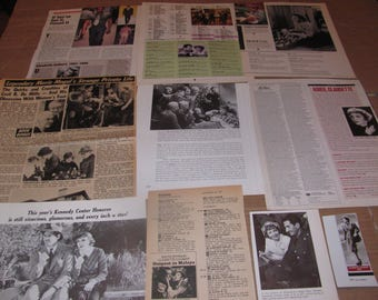 CLAUDETTE  COLBERT  #3  CLIPPINGS  #0308