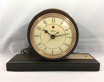 Telechron Clock Etsy