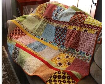 Boho Chic Quilt Pattern