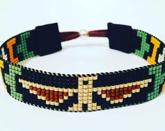 Men's Native American Inspired Thunderbird Bracelet