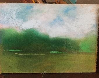 Late Summer Landscape Study