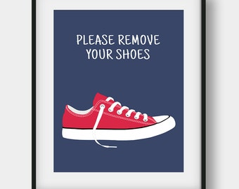 50% OFF Please Remove Your Shoes Printable Sign, Shoes Off Please Print, Shoes Off Poster, Take Your Shoes Off Sign, Entry Sign, Home Decor