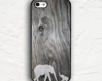 Elephant with Baby Design iPhone 7 Case iPhone 7 Plus Case iPhone 6s Case iPhone 6 Plus Case iPhone 5s iPhone 5 Case iPhone 5c Cover