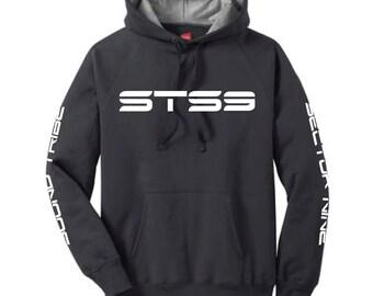 STS9 4 print pullover hoodie