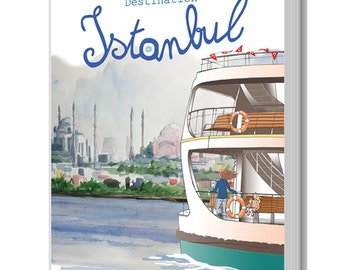 Graphic novel my Expat life, Destination Istanbul