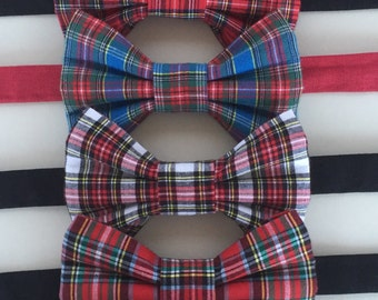 TARTAN BOW TIE - Blackwatch tartan, Royal Stewart tartan, Macbeth Modern tartan, Armstrong tartan, bow ties for Burns Night