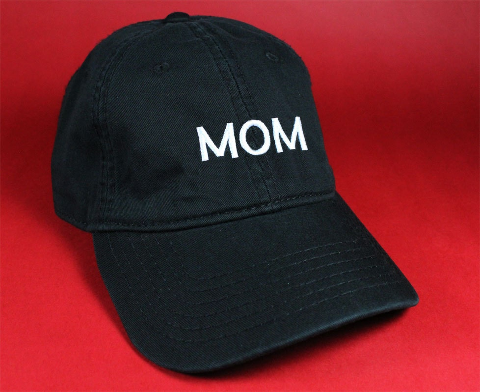 Mom Black Pink White Dad Hat Dad Cap Baseball Hat Baseball Cap