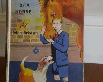 Ironsides the Story of a Horse  by Helen Briston vintage horse story