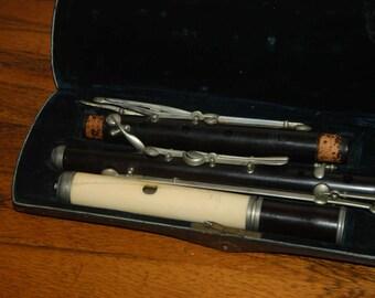 """Flute """"Heinrich Friedrich Meyer"""" original baroque flute"""