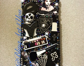 Goth makeup IPhone 6 Plus case cover