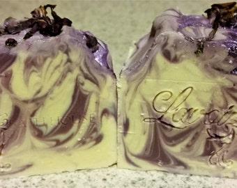 Lilac, Handmade, Cold Process Soap, Handmade Soap, Bar soap