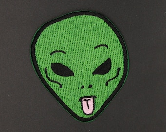 Alien patch   Apparel Movie Hat patches Embroidered Iron on sew on patches