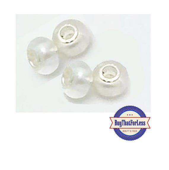 Acrylic Beads, PRETTY PEARL, 8 pcs  +Discounts & FREE Shipping*