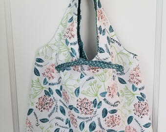Spring tote/lunch bag