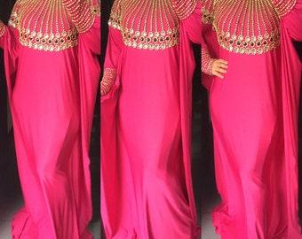 Premium spandex kaftan abaya. Made to order