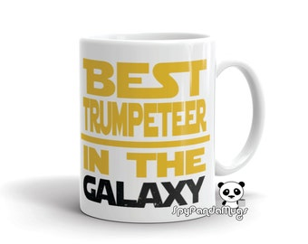 Cool Trumpet Player Mug - Best Trumpet Player In The Galaxy Mug