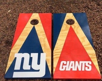 New York Giants Cornhole Set With Bags