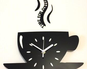 Contemporary clock Etsy