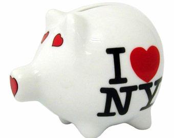 I Love New York Piggy Bank