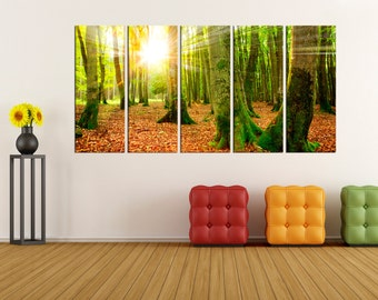 extra Large wall art, forest Canvas wall art, fine art print  large canvas art, wall art canvas,  wall decoration canvas art print,  bir95