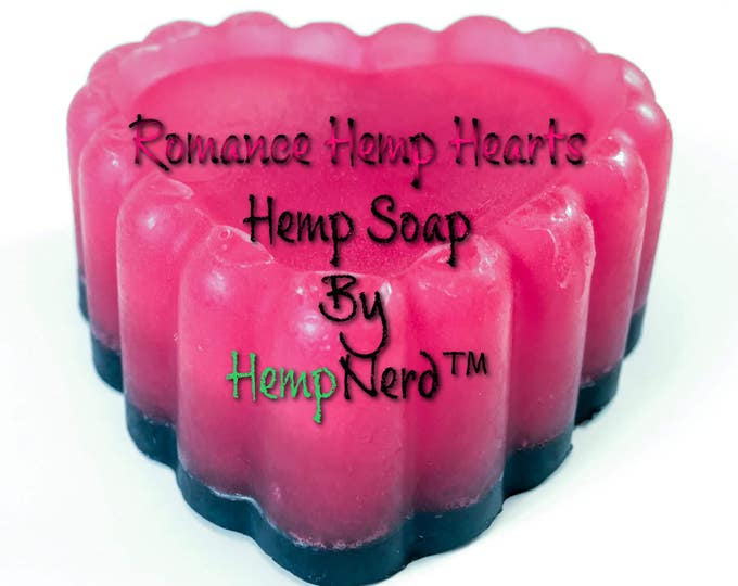 Glycerin Hemp Soap Romance Scented Bar Soap